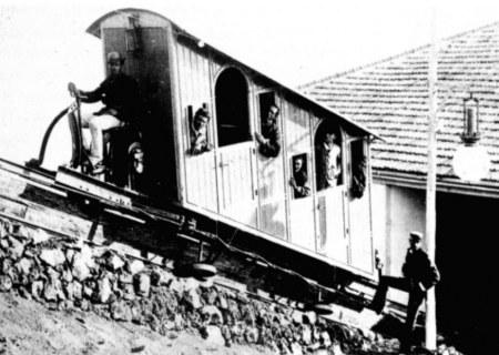 Фуникулёр в 1880—1888 годах