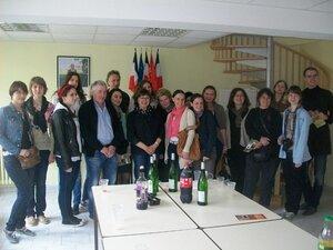 Группа на приёме у мэра г. Амбиалет