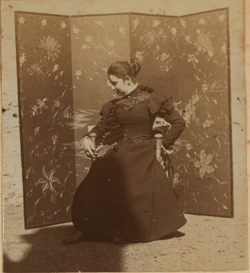 Элеонора Прэй. февраль 1900