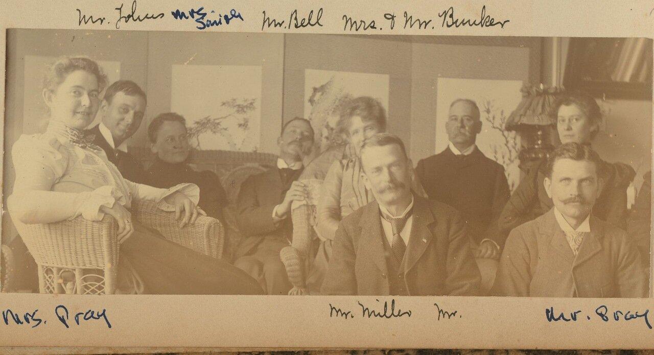 Групповой портрет. Июль 1899 года