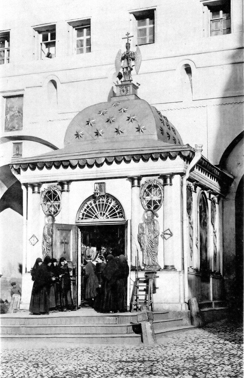 Иверская часовня, начало XX века
