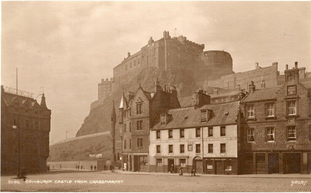 Эдинбургский замок. 1920