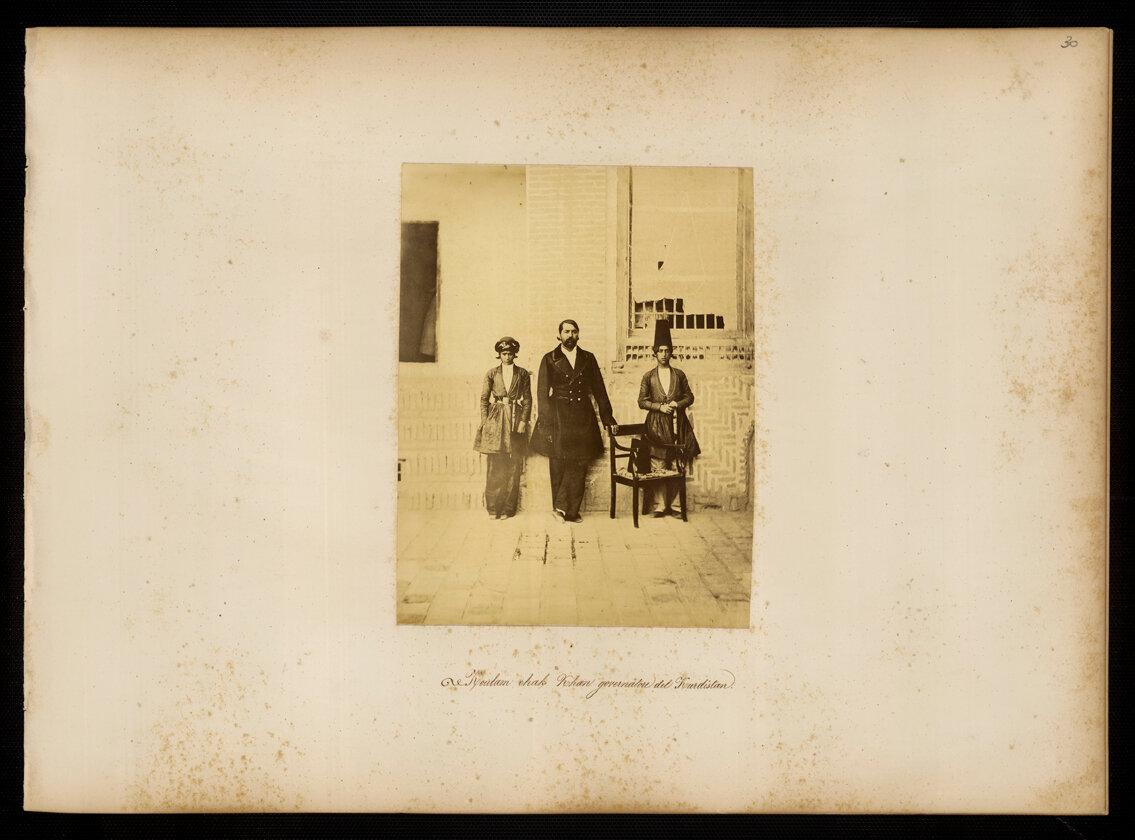 Персия. Кулам Чака Хан, губернатор Курдистана