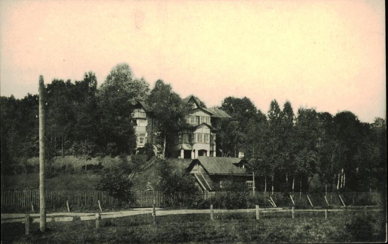 Станция Парголово. Старожиловка, по дороге к озеру