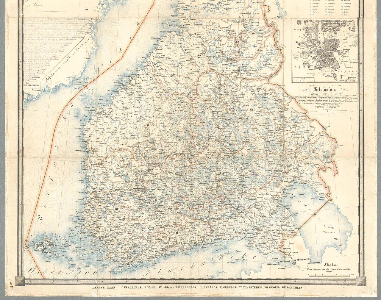 Финляндия. 1860