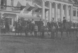 Имение князя Кочубея. Перед дворцом