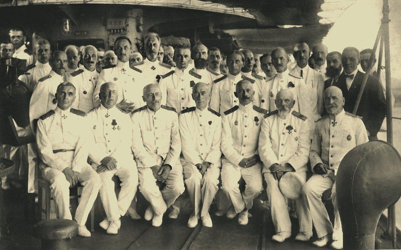 Командование Русской эскадры в Бизерте. 1921