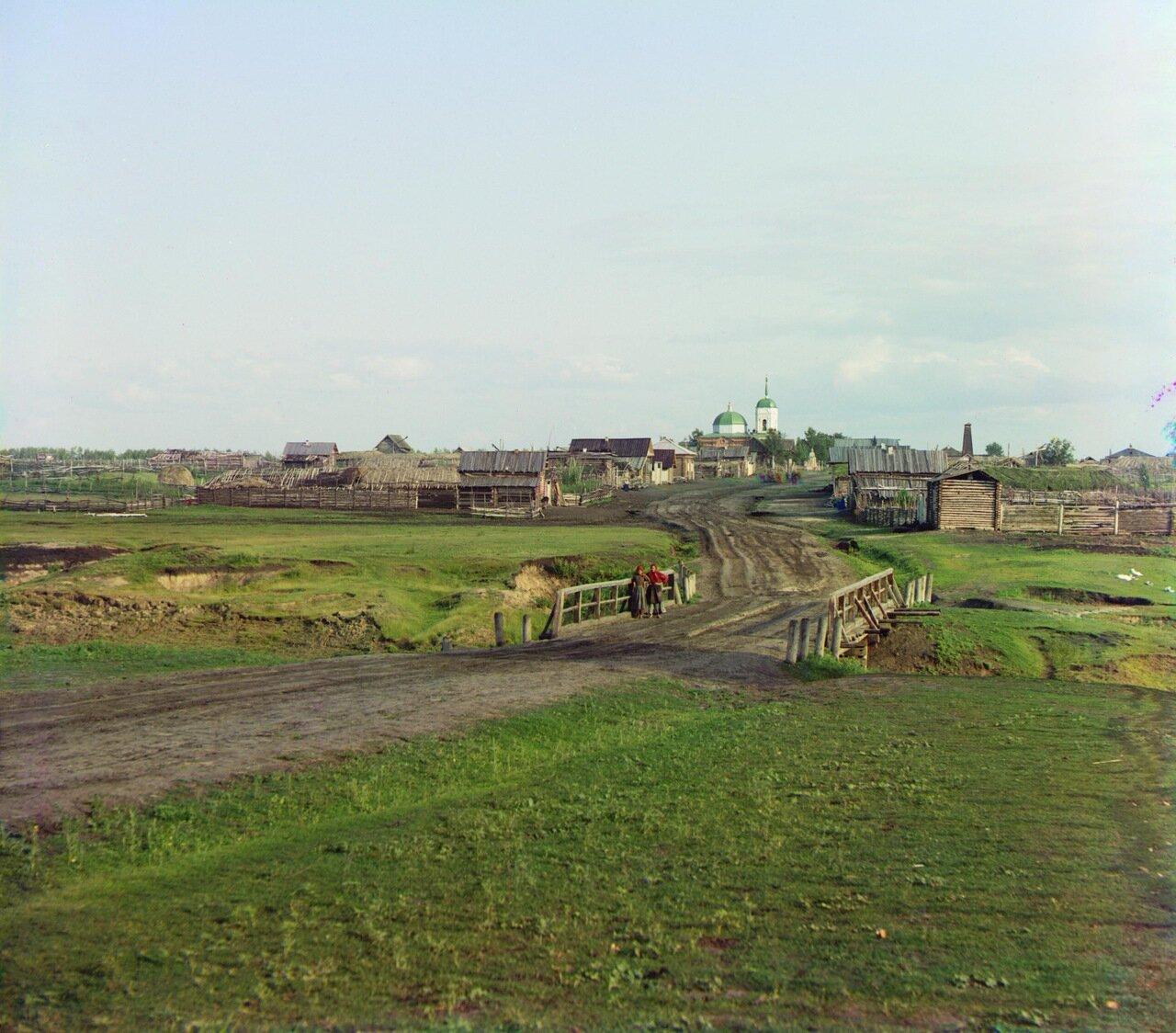 Село Дрянновское в 25 верстах от Шадринска. 1912