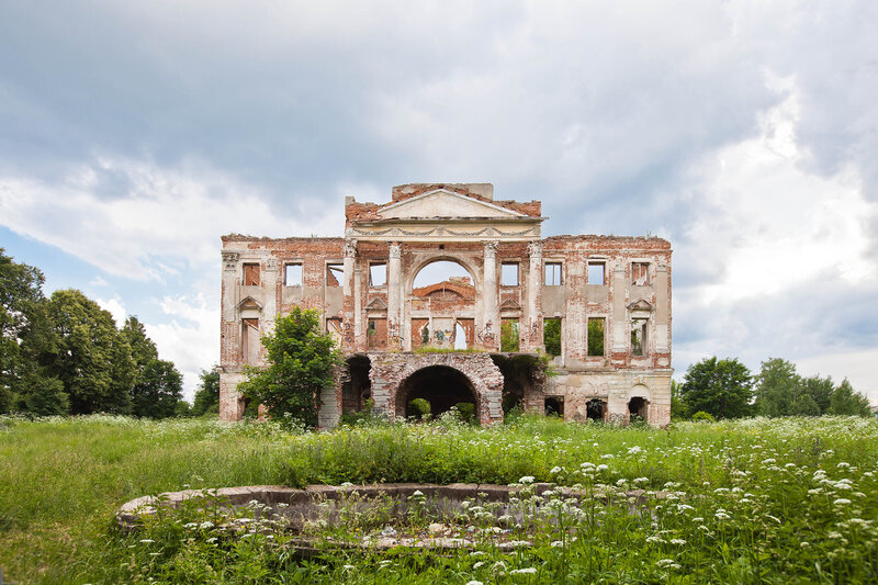 Дворец на Наре - вид со стороны Нары