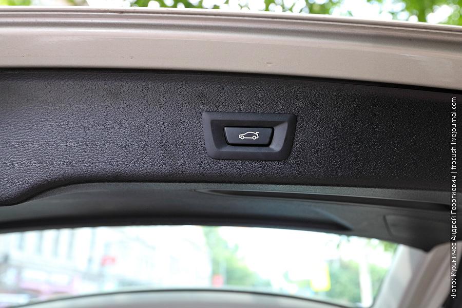 Электропривод крышки багажника BMW X3 xDrive30d