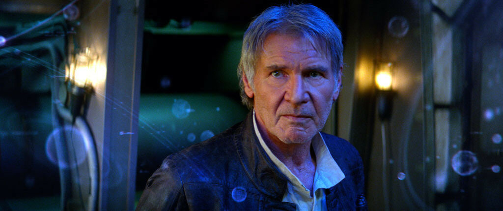 Star Wars: The Force Awakens..Han Solo (Harrison Ford)..Ph: Film Frame..? 2014 Lucasfilm Ltd. & TM. All Right Reserved..