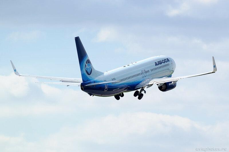 Boeing 737-86N (EI-ECL) Алроса 267_D800923
