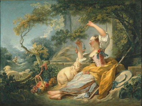 Пастушка -1750-1752