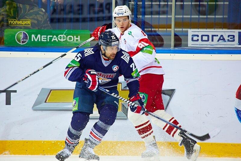 «Металлург» (Магнитогорск) vs «Спартак» 3:2 чемпионат КХЛ 2013-2014 (Фото)