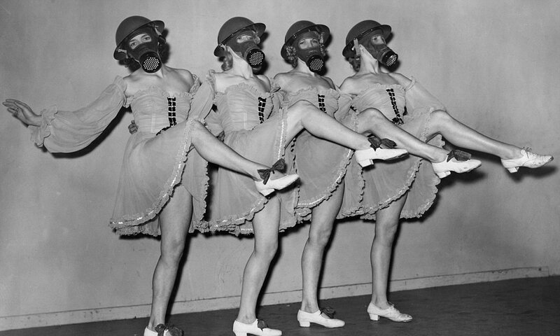Gas Mask Girls