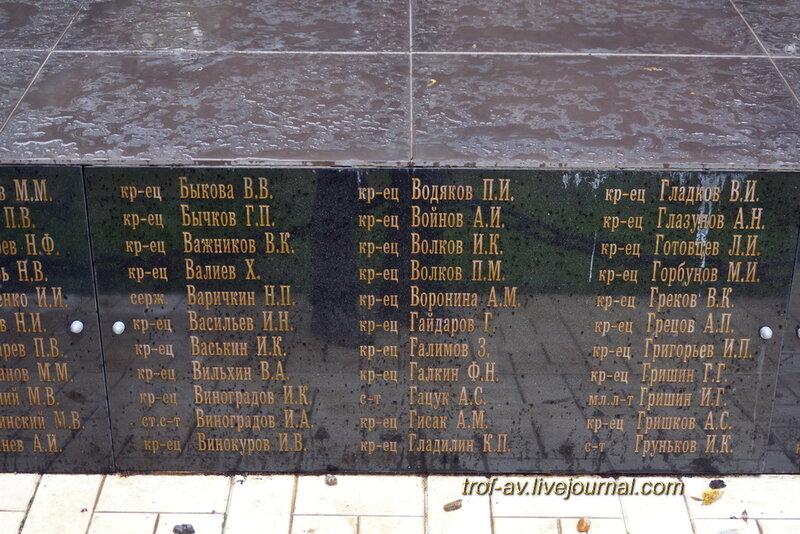 Мемориал павшим в Великой Отечественной, Наро-Фоминск