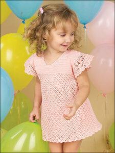 Воздушная сладость - платье крючком