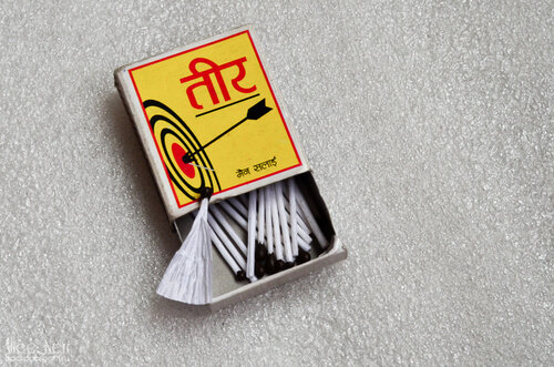 Matches made of paper