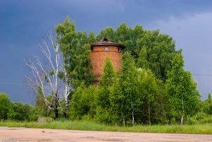 Станция Угра, водонапорная башня