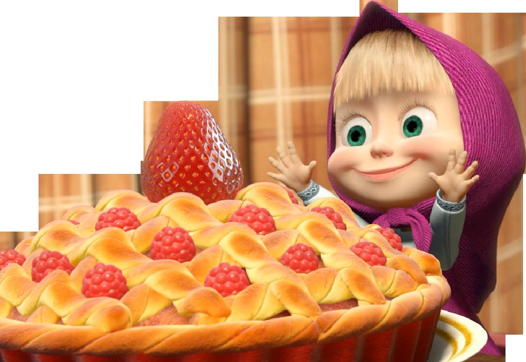 Детские мультяшные картинки про еду