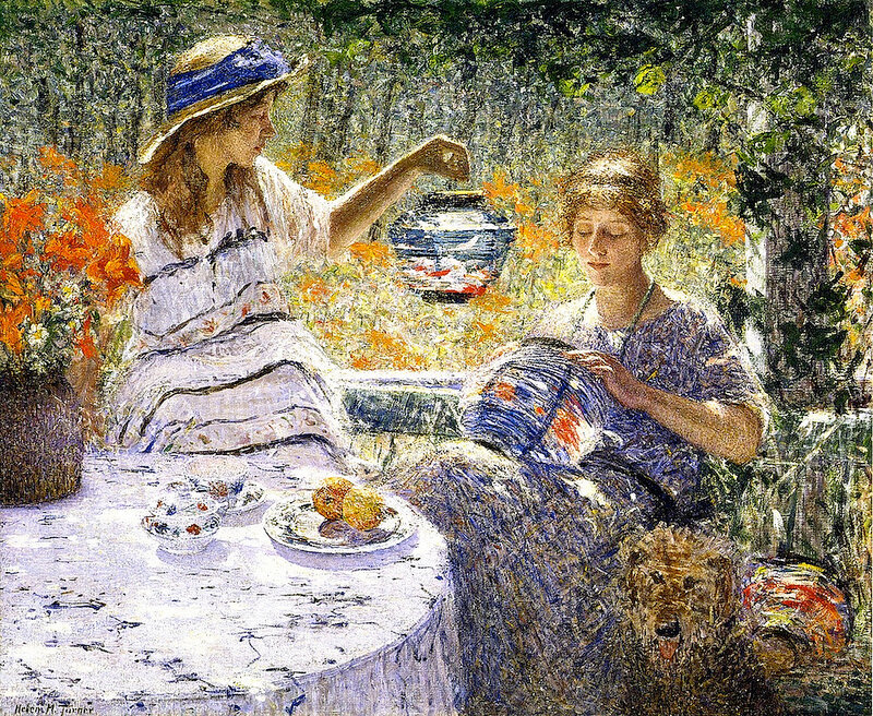 Helen M. Turner - Lilies, Lanterns and Sunshine