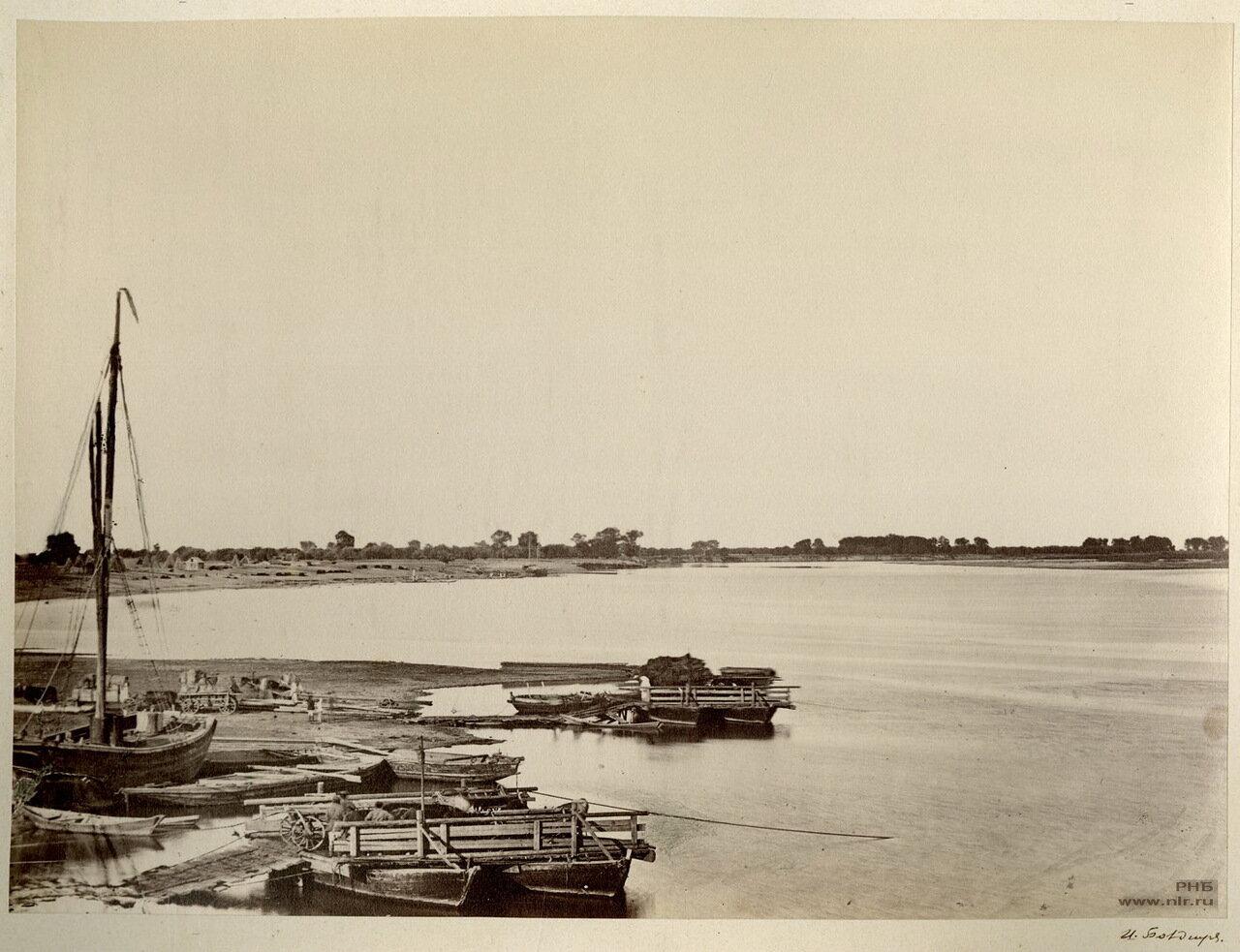 Дон у Цымлянской станицы. 1875-1876