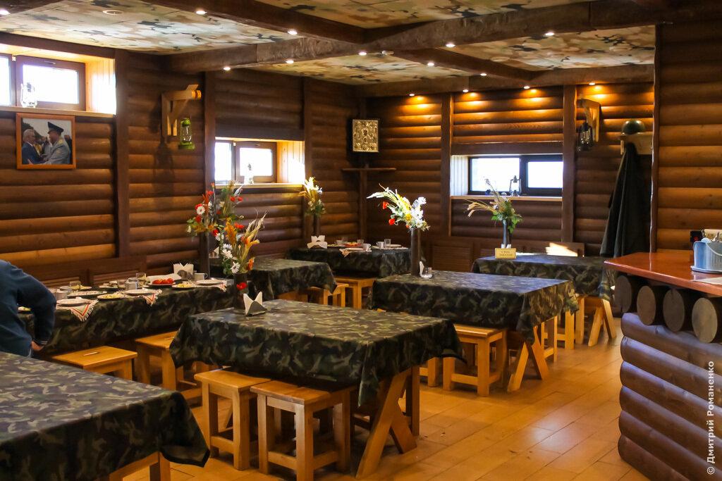 блиндаж, прохоровское поле, кафе