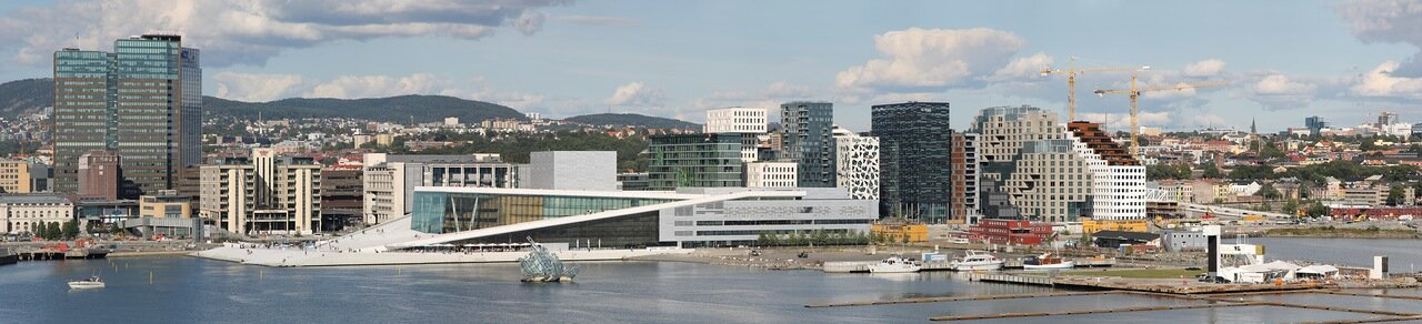 Oslo. Осло. panorama