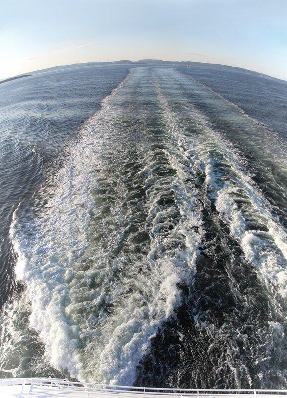 Паром, Ferry DFDS Crown Seaways. пролив Эресунн, Öresund