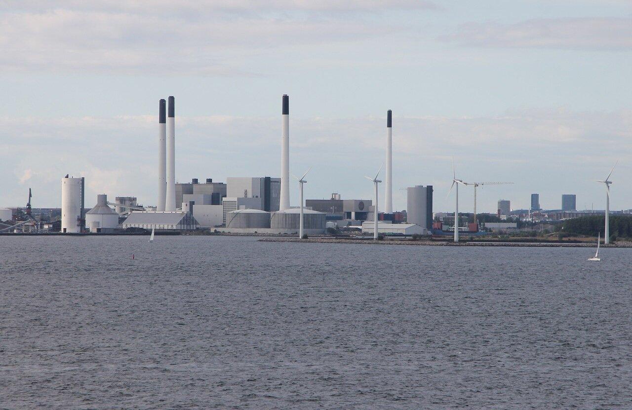 Копенгаген, искусственный остров Prøvestenen