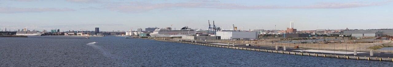 порт Копенгаген, Нортхавнен Nordhavnen. panorama