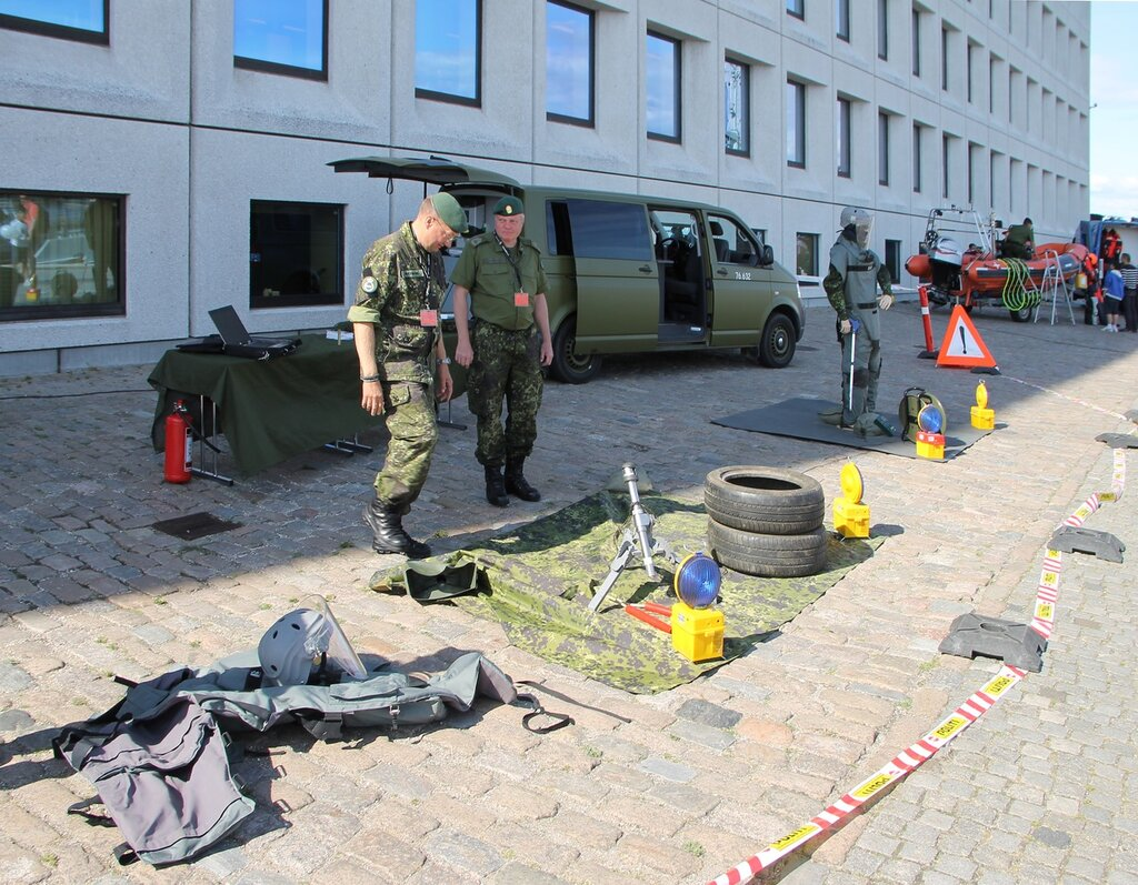 Копенгаген. Выставка Национальной гвардии Flyverhjemmeværnet