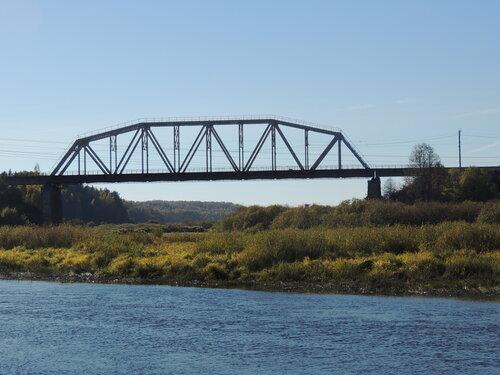 железнодорожный мост через Оредеж