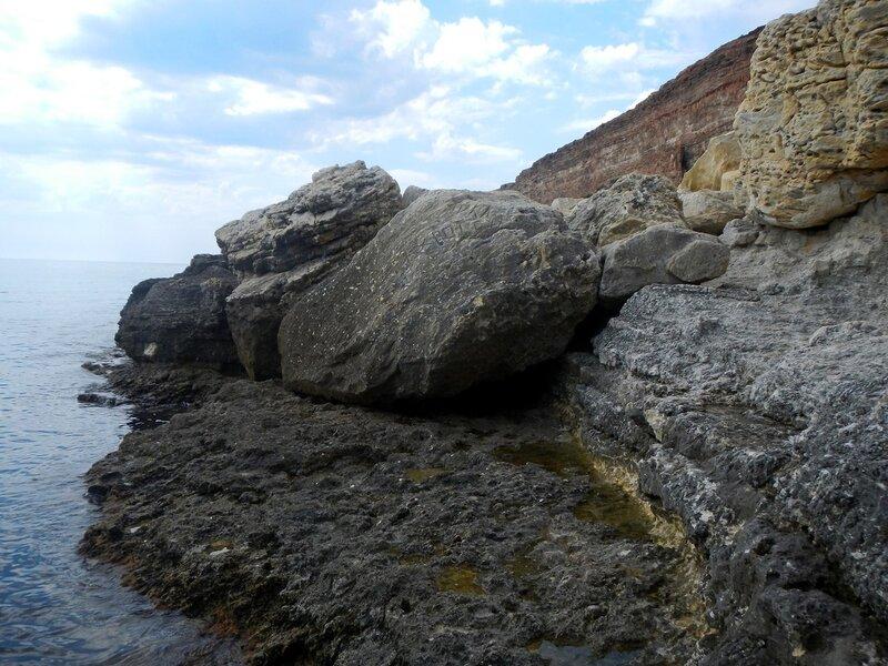 Каменный нудистский пляж на Фиоленте