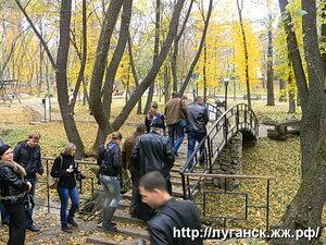 Поездка луганских журналистов и блогеров по Ровеньковской епархии