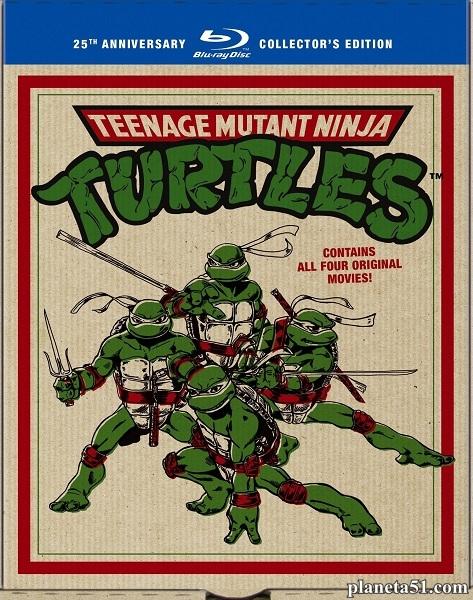 Черепашки Мутанты Ниндзя - Трилогия / Teenage Mutant Ninja Turtles - Trilogy (1990/1991/1993/HDRip)