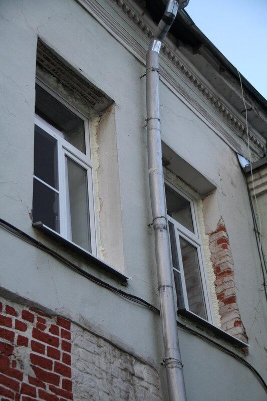 Окна в пластике на Объекте культурного наследия