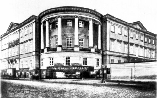 Мясницкая. Дом Юшкова. 1880-е