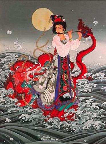 Тонкий стиль китайской живописи Кэролайн Янг (Caroline Young)