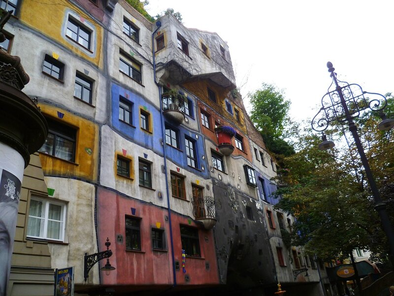 Вена, дом Хундертвассера (Vienna, Hundertwasser House)