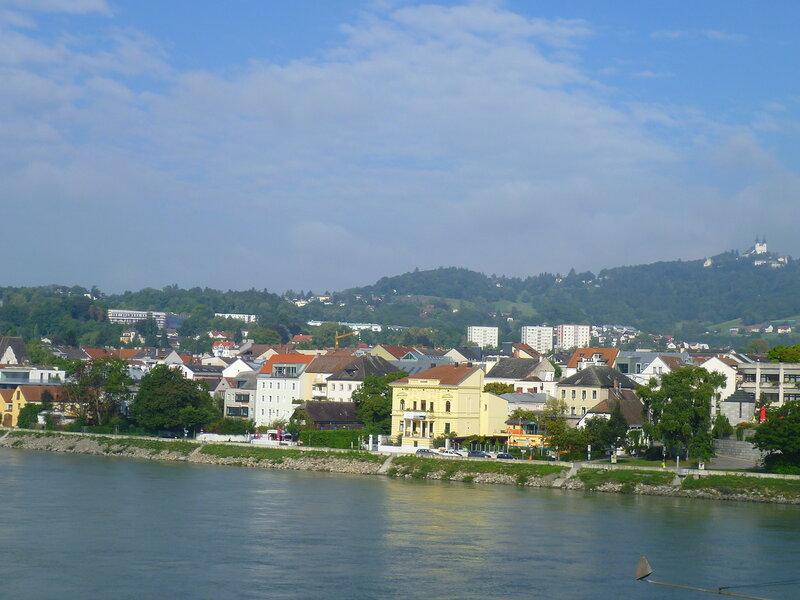Дунай в Линце, Австрия (Danube in Linz, Austria)