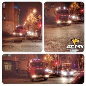 В центре Новосибирска произошёл пожар в помещении ресторана