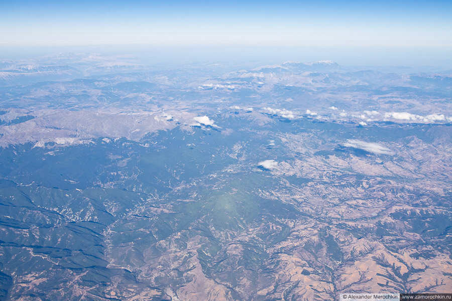 Пролетая над Балканским полуостровом
