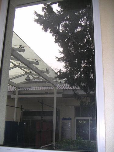 Вид из окна 7 палаты