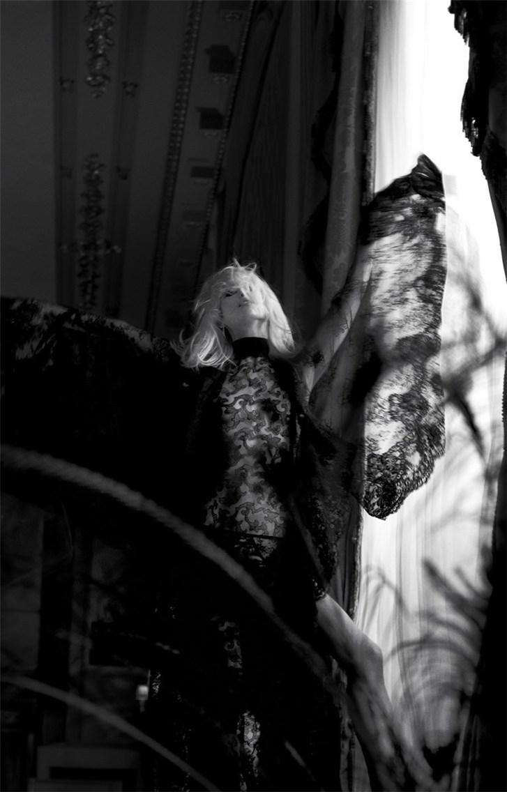Hana Jirickova / Хана Ирицкова в нижнем белье Andres Sarda, осень-зима 2013 / фотограф Txema Yeste