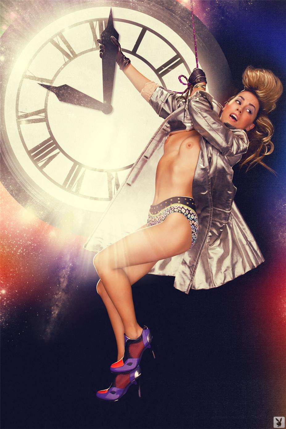 Назад в будущее - Playboy Goes Back - Jessica Hall & Kimberly Phillips