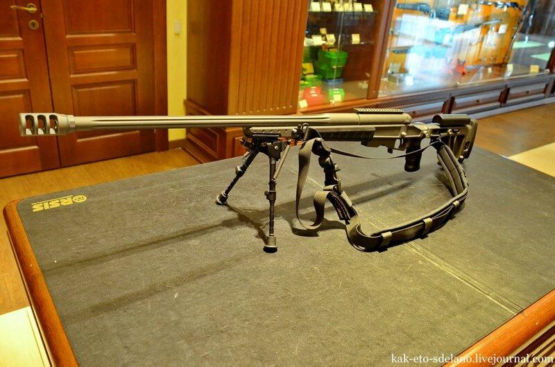 Как делают снайперские винтовки (видео)