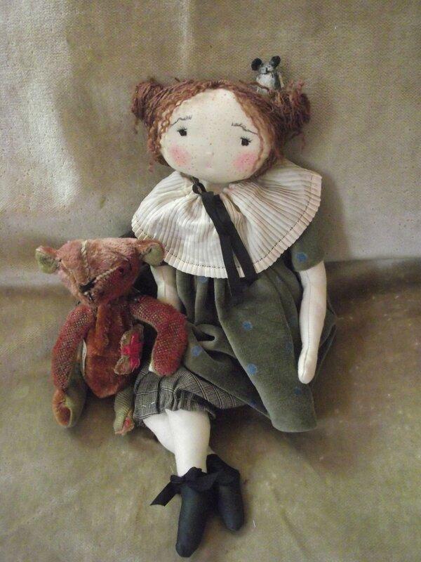 Тряпичные куклы с лицом своими руками