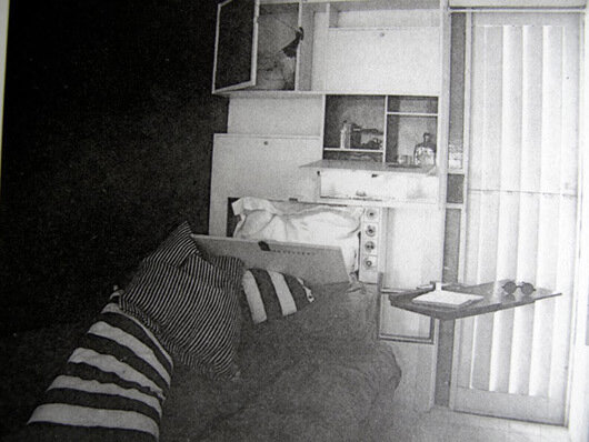 Eileen Gray & Jean Badovici's villa E–1027, 1929 © Eileen Gray & Jean Badovici