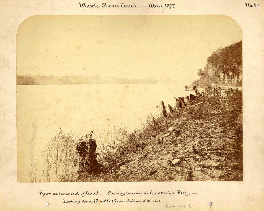 1877.  Канал Масл-Шоалз